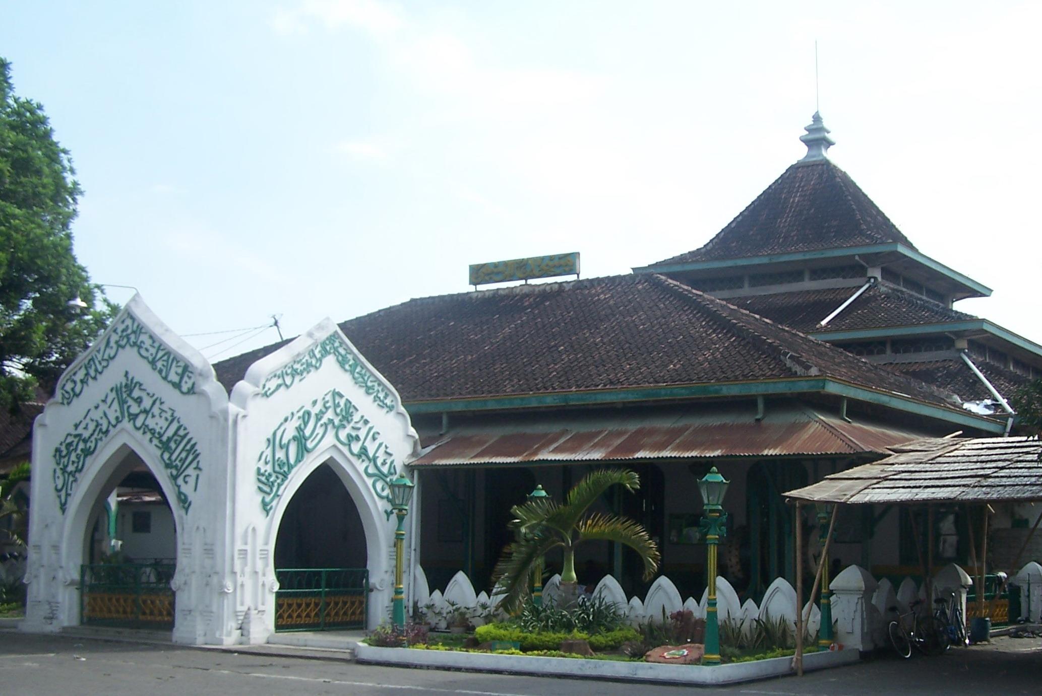 Gambar Masjid Al Wustho Mangkunegaran