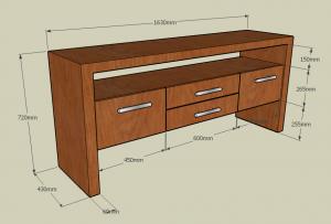 Teak Furniture 2 (Credenza)